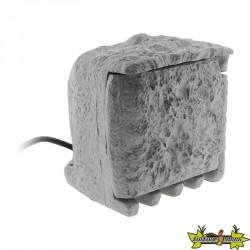 Bloc pierre 4 prises 16A 2 P+T étanche IP 44 + câble H07RN-F 3G1.5mm² - LG 1,5m - matière résine