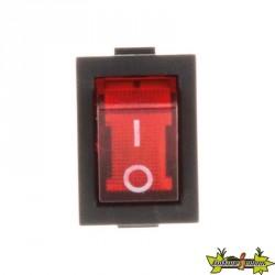 Interrupteur à bascule rect 250V 6A Lumi