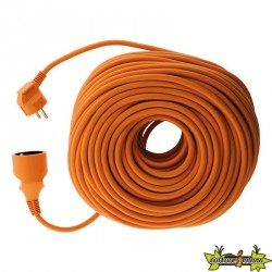 PROLONGATEUR de jardin HO5VVF 3 G 1,5 ORANGE 50 M