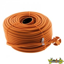 PROLONGATEUR de jardin HO5VVF 2 x 1.5 ORANGE 50 M