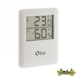 Thermomètre Hygromètre blanc Otio 65x80mm