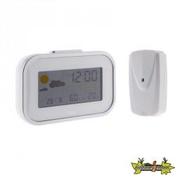 Mini station météo avec capteur extérieur sans fil - OTIO