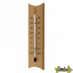 Thermomètre classique effet bois - OTIO