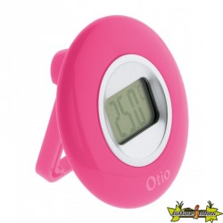 THERMOMETRE DIAMETRE 77mm A ECRAN LCD rose