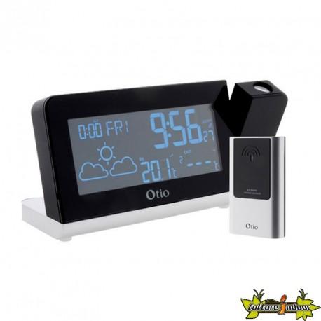 Centrale météo MonaLisa avec projection - Capteur sans fil - Otio