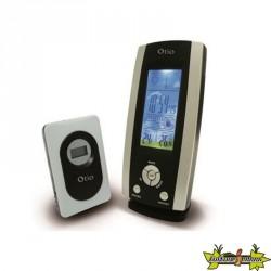 Centrale météo / hygromètre LCD Couleur avec capteur sans fil - OTIO