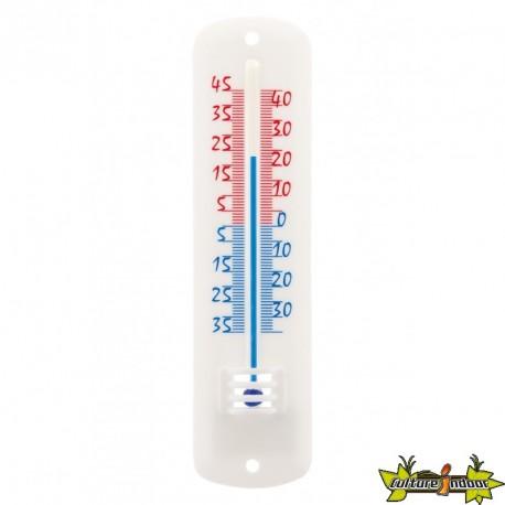 Thermomètre classique blanc