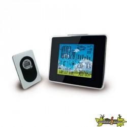 Centrale météo, ecran LCD couleur avec Capteur extérieur sans fil 100m