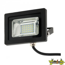 499900 PROJECTEUR 24 LED 10W 6500K 800 LM IP65 NOIR