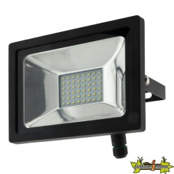 499902 PROJECTEUR 48 LED 20W 6500K 1600 LM IP65 NOIR