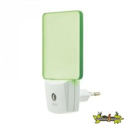 Veilleuse crépusculaire automatique vert