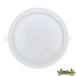 455182 HUBLOT ROND LED 5.5W 450LM IP44 BLANC