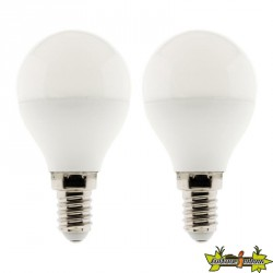 454701 LOT 2 AMPOULES LED STANDARD 6W E27 6500K 470LM