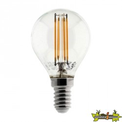 455049 AMPOULE LED FILAMENT MINI GLB 4W E14 2700K 400LM