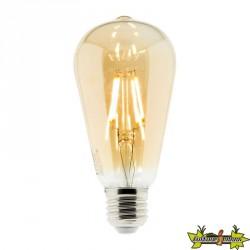 454904 AMPOULE LED FILAMENT AMBRÉE ST64 4W E27 345 LM