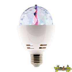 454920 AMPOULE LED DISCO 3W E27 RGB