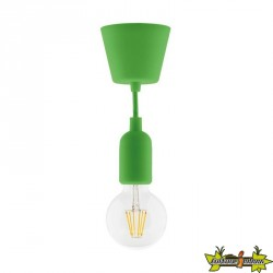631004 KIT DE SUSPENSION DECO VERT + GLOBE FILAMENT LED