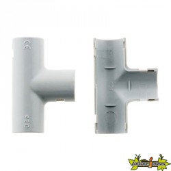 100474 10 TES IRL CONDUITS D.20MM GRIS