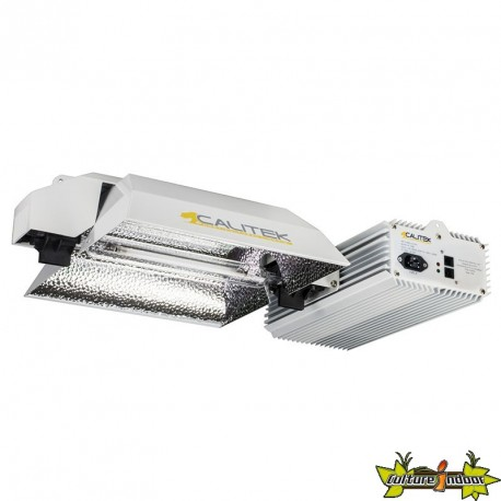 KIT CALITEK PRO DE DOUBLE ENDED FLORAISON 600-1150W E-Link + dimmer Super Par 15%