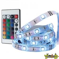 RUBAN LED Flexible RVB 3M avec télécommande