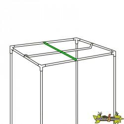 Barre de suspension Black Box Silver pour lampe 80cm