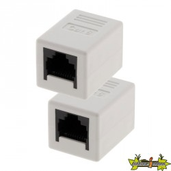 1578 LOT 2 RACCORDS RJ45 FEMELLE/FEMELLE CAT6