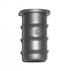 Bouchon 16mm irrigation tuyau PE/souple
