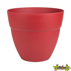 EDA - Pot rond Cancun - Rouge Rubis - 56.8L