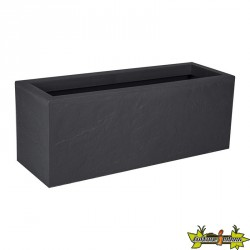 13756 G.ANT JARDINIERE VOLCANIA UP 57L GRIS ANTH 79.5X29.5X29.5CM