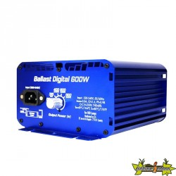 Superplant - Ballast digital HPS-MH-CMH avec dimmer - 250W/600W