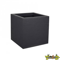 CARRE GRAPHIT UP GRIS ANT. 21L 29,5x29,5x29,5CM
