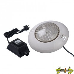 SPOT LED 350 BLANC P.Ø275XH75MM. ABS. 5M CÂBLE