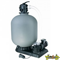POOLFILTER SET FILTRATION 13.0 M3/H POUR P.inf 100M3 - Ø600MM