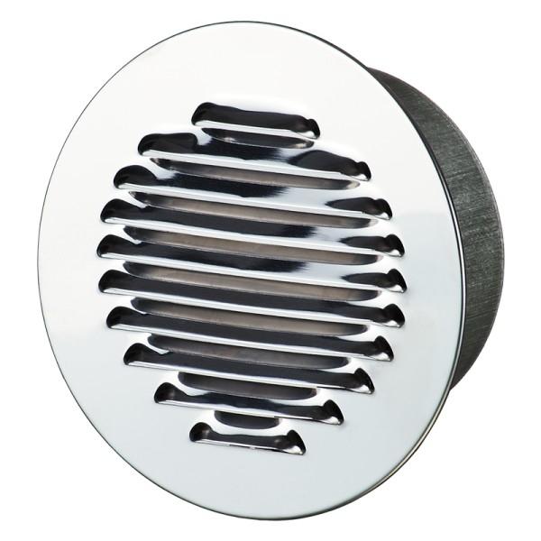 Winflex - Grille d´aération ronde ø150mm aluminium avec écran anti-insecte