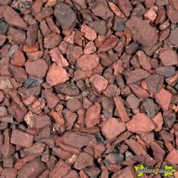 GRAVILLON DE SCHISTE ROUGE 6-15 MM -SCHISTE ROUGE 20KGS