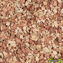 GRAVILLON MEDITERRANEA 8-12 MM -CALCAIRE ROSE 20KGS