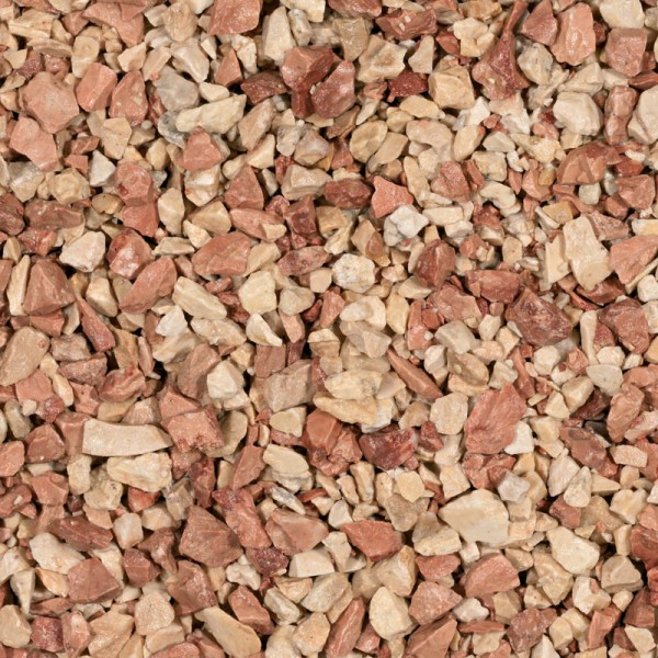 Gravillon mediterranea 8-12mm - Calcaire rose - 20kg