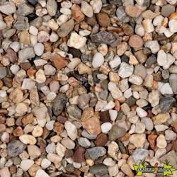 GRAVIER BLANC (L'ALLEMAGNE) 16-32MM ROND -QUARTZ BLANC 500KG