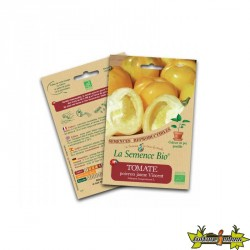 La semence Bio - Tomate poivron jaune vincent