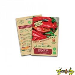 Le semence Bio - Poivron Corno di Toro rosso