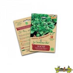 La semence Bio - Mâche verte à coeur plein