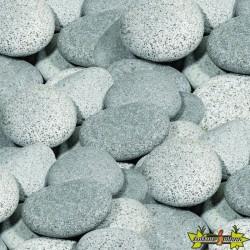BEACH PEBBLES GRIS 12-15 CM ROND (NATUREL)-GRANIT GRIS 740KGS