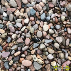 COBRA PEBBLES 2-5 CM ROND (NATUREL)-MIXTE BRUN 680KGS