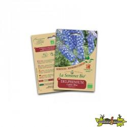 La semence Bio - Delphinium galilée blue