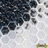 NIDAGRAVEL GRIT PANELS WHITE 120X80X3 CM -- BLANC LA PLAQUE