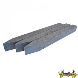 ECOBORDER PIC 40X4X4 CM -PLASTIQUE GRIS