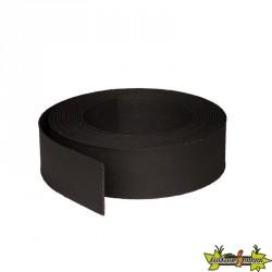 ECOBORDER FLEX BLACK 25000X140X7 MM -PLASTIQUE NOIR LE RLX