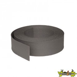 ECOBORDER FLEX GREY 25000X140X7 MM -PLASTIQUE GRIS LE RLX