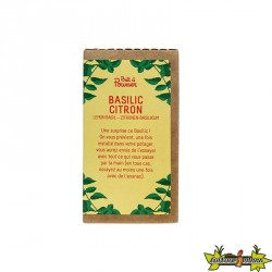 CAPSULE BASILIC CITRON 50G