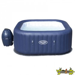 LAY-Z-SPA CARRE - HAWAI AIRJET GONFLABLE MATERIAU TRICTEC